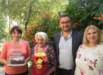 Винниківська міськрада привітала з 90-річчям Зеновію Наорлевич