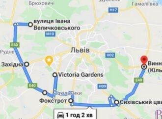 Громадяни просять створити новий автобусний маршрут кільцевою дорогою