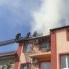 У Винниках загорівся житловий будинок: пожежу гасять дев'ять екіпажів