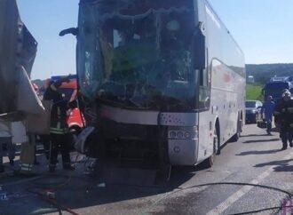 У Чишках в авторощу потрапив автобус маршруту Київ – Салерно та ще п'ять автомобілів!
