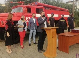 Щодня як на передовій: Винниківська міська рада привітала особовий склад 61-ї ДРПЧ з Днем рятівника
