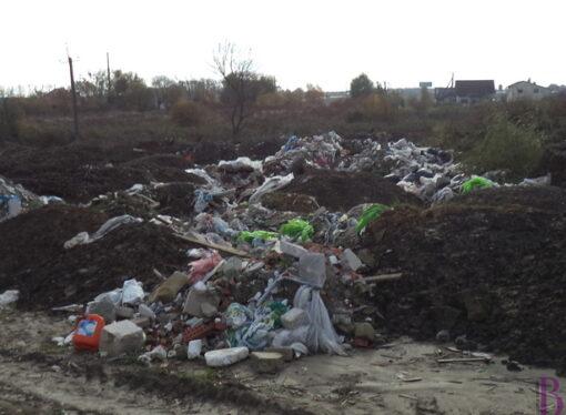 У Винниках з'явилося ще декілька стихійних сміттєзвалищ