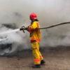 У селі Давидів під час пожежі постраждав 68-річний кочегар