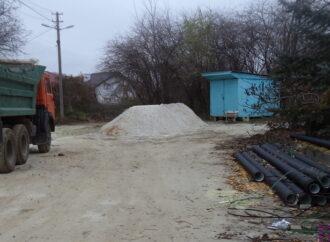 У Винниках каналізують вулицю Полуботка