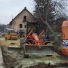 У Винниках ремонтують вулицю Івана Франка
