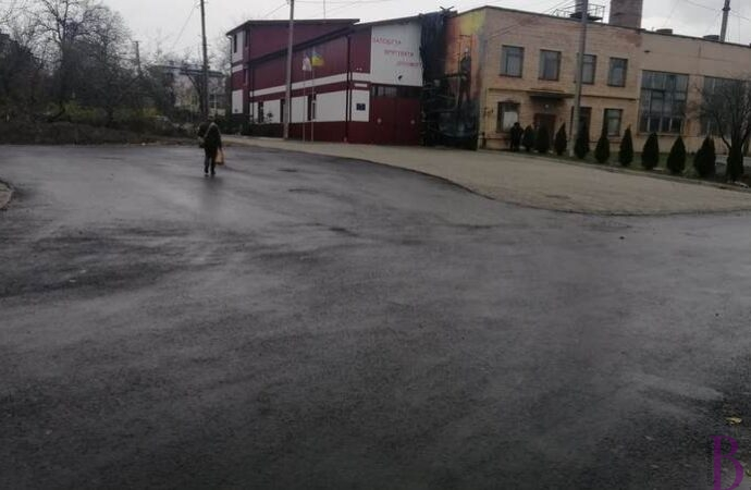 Завершено ремонт вулиці Генерала Дмитровського