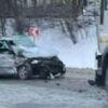 Неподалік Винник в автотрощу потрапило чотири машини