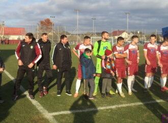 Футболісти «Юності» поступилися команді з Черкащини