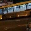 В автобус № 40 в'їхала автівка
