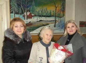 Винниківська міська рада привітала з 85-річним ювілеєм Ірину Рибак!
