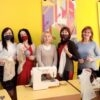 Дбаємо про екологію: в дитячій бібліотеці Винник вчили шити екоторбинки