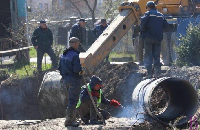 Завершили підключення нової ділянки водогону, що забезпечує водою Винники та Личаківський район
