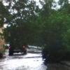 Після зливи частина Винник перетворилася на Венецію